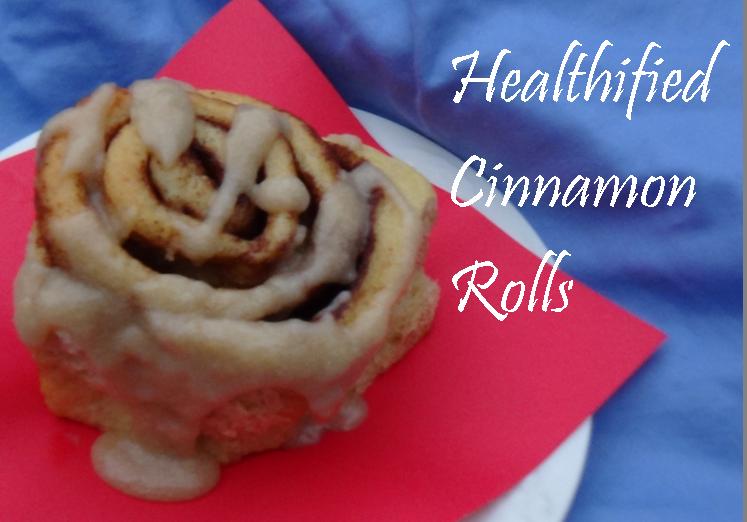 healthified cinnamon rolls